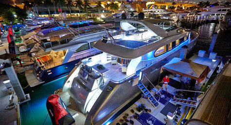 The International Boat Show in Fort Lauderdale