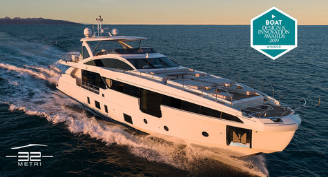 Azimut Grande 32 Metri wins the Design & Innovations 2019 award!